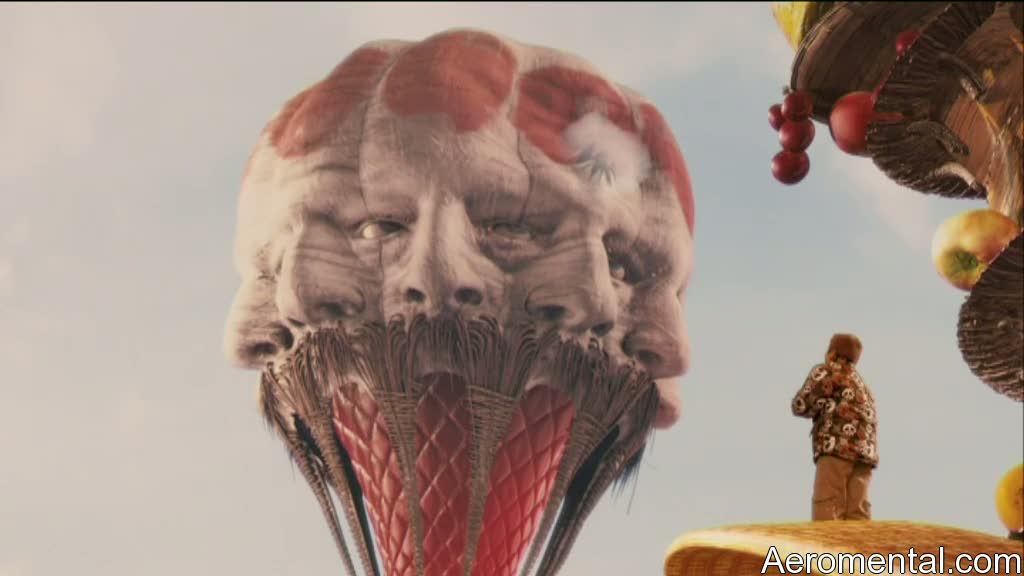 Imaginarium del Doctor Parnassus globo aerostático