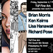 A Four Way Split Show:  Brian Morris, Ken Keirns, Lisa Hanawalt, Richard Pose
