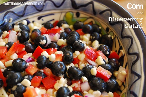 corn and blueberry salad - Page 345