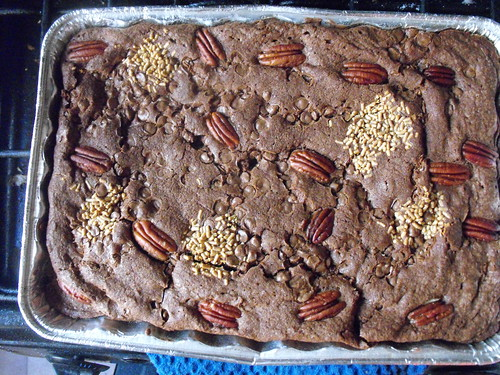 Brownie terminado