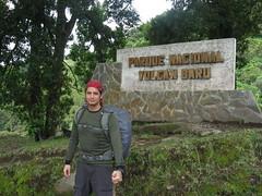 Saliendo ya (Morinoko) Tags: outdoors hiking panama 2009 baru volcan