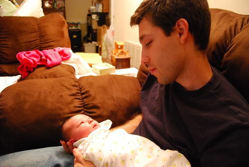 Daddy and Savannah