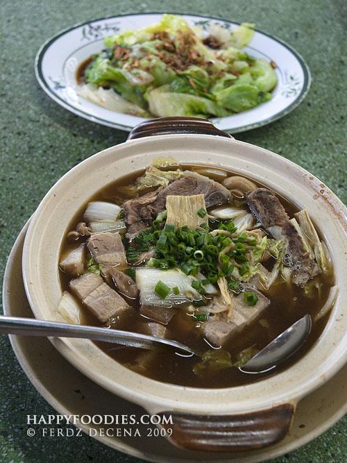 Bak Kuh Teh and Yau Choy