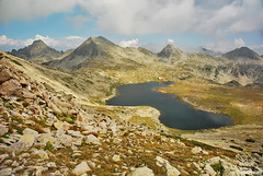 Tevno ezero ,   ,  , Pirin mountain , Bulgaria (.:: Maya ::.) Tags: wild mountain eye nature beauty landscape rocks maya lakes september bulgaria bulgarie pirin bulgarien         mayaeyecom mayakarkalicheva  wwwmayaeyecom