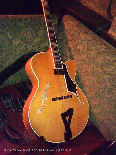 Rick Stone's guitar