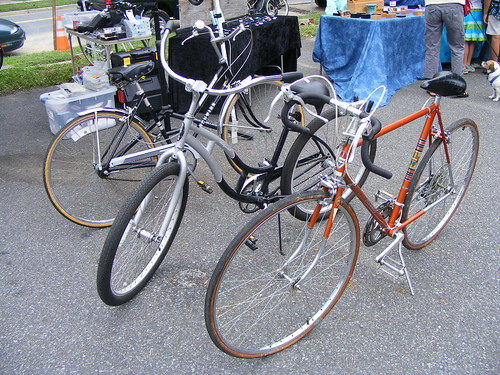 Bikes For Sale (I Rode The One In The Middle And It Was Sweet)