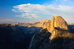 Late Evening Yosemite Half Dome (lassi.kurkijarvi) Tags: california sunset unitedstates yosemite halfdome yosemitenationalpark glacierpoint yosemitevalley