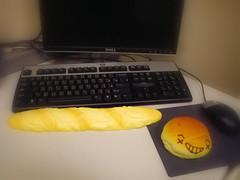 滑鼠護腕墊與鍵盤手枕
