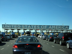US Border Checkpoint