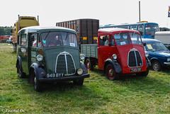 Morris J Type (Coastal Co) Tags: uk england classic vehicles van steamrally hanbury morrisjtype