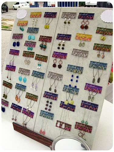 my earrings for sale!
