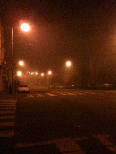 Foggy in SF