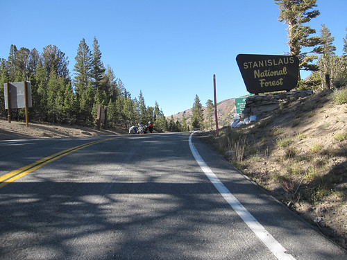 Arriving at Sonora Pass (from east side)