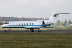 5H-ONE - Tanzania Government - Gulfstream G550 - Luton - 090305 - Steven Gray - IMG_0430