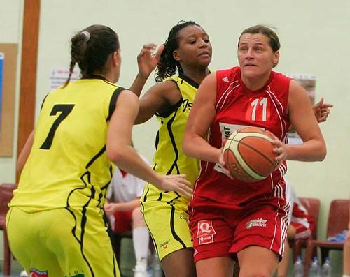 basket coc filles - bordeaux