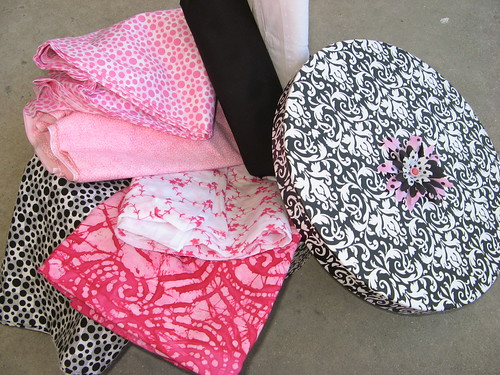 IPink and Black fabric