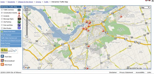 Ottawa Traffic Map The City of Ottawa's award winning interactive traffic map – Techvibes