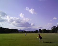 中部台公園にて(松阪市)