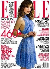 elle cover Kiera Knightley
