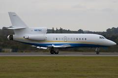 N876C - 162 - Private - Dassault Falcon 900EX - Luton - 091009 - Steven Gray - IMG_0158