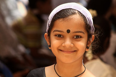 Traditional Devika (Light and Life -Murali ) Tags: girls girl happy bangalore celebrations cheers karnataka onam malayalam malayalee samruddhi shriramsamruddhi