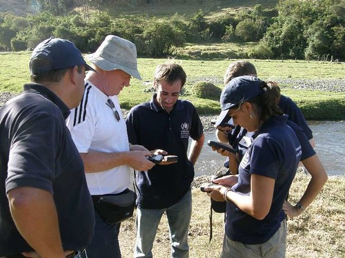 UNHCR News Story: UNHCR emergency training goes regional with new programme in South America