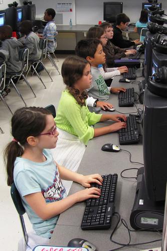 computer lab - 4th grade