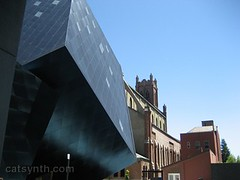 Contemporary Jewish Museum (catsynth) Tags: sanfrancisco art architecture wednesday modernism wordless contemporaryjewishmuseum wordlesswednesday