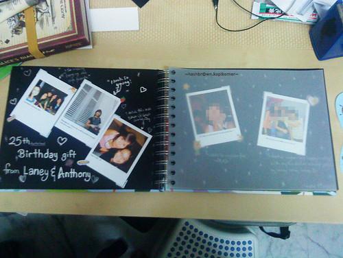 Update to my photo scrapbook
