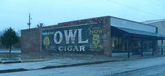 Ghost Sign - Pleasanton, Kansas: Owl Cigars