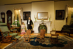 Bill and Ida at home... (tbower) Tags: travel ohio history museum geotagged iso3200 nikon raw nef historicpreservation cantonohio cs4 uspresidents sigma1224ex starkcountyohio idamckinley mckinleymuseum ohiotravel acr55
