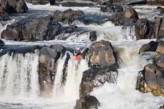 Kayaking The Potomac (rhilton4u) Tags: river virginia dc washington nationalpark whitewater kayak nps greatfalls falls waterfalls kayaking potomac watersports