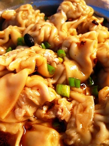 Wantan in Sour and Spicy Sauce