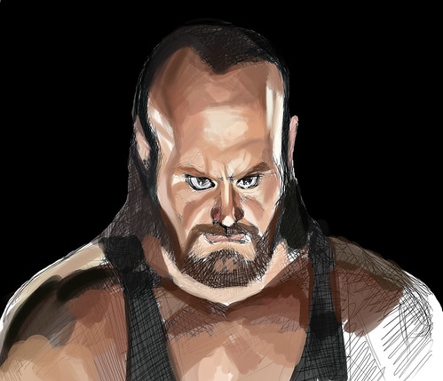 digital sketch of Undertaker - 2
