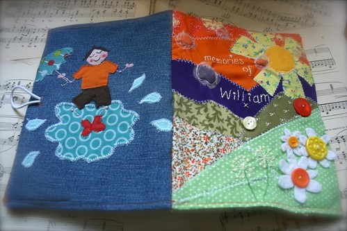 William's Memory Book - both covers