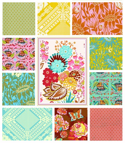 Loulouthi Tiles Baby Quilt