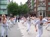 Уличная тренировка в Гамбурге