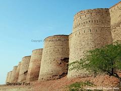 Fort Derawar (High Blue) Tags: pakistan private fort punjab cholistan bahawalpur derawarfort derawar concordians nawabsfort bahawalpurprincelystate worldforts squarefort