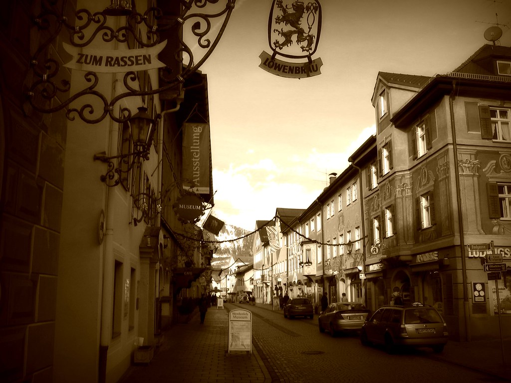 Street in Garmisch