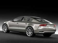 new 2009 Audi Sportback Concept