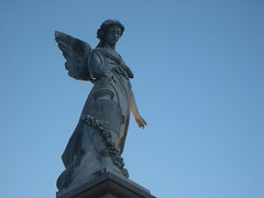 Angel Statue (ChrisGoldNY) Tags: travel cemeteries usa cemetery statue angel america louisiana forsale graveyards neworleans cemetary viajes albumcover bookcover nola licensing chrisgoldny chrisgoldberg chrisgold chrisgoldphotos