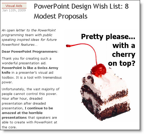 PowerPoint Design Wish List