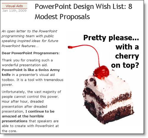 PowerPoint Design Wish List