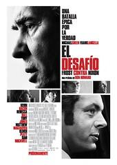 Poster El desafío Frost contra Nixon