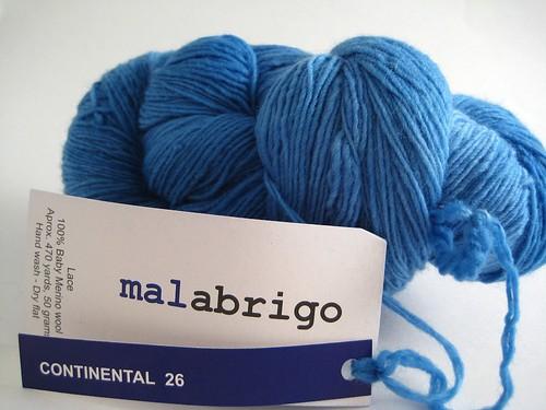 Continental - Malabrigo lace