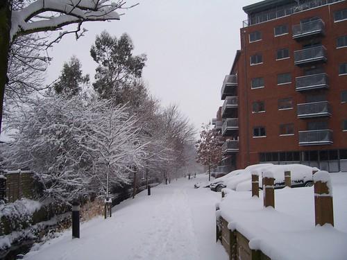 Flats near Merton Abbey Mills