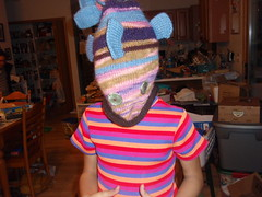 Fish Ate My Daughter! (Knitting Cateling) Tags: fish hat knitting knitty