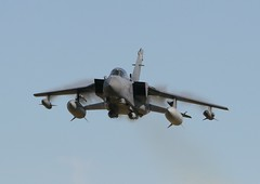 TornadoGR4VapourrunLEU06NB (PhoenixFlyer2008) Tags: aircraft military low airshow tornado loud vapour raf 617 dambusters sqn panavia gr4 rafleuchars