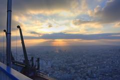 Pompompom HDR (Thomas Rodrigo R.) Tags: light sunset paris france tour montparnasse effeil 450d
