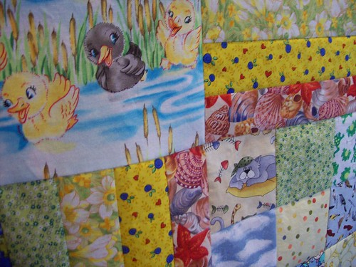 Baby Quilt Close-up